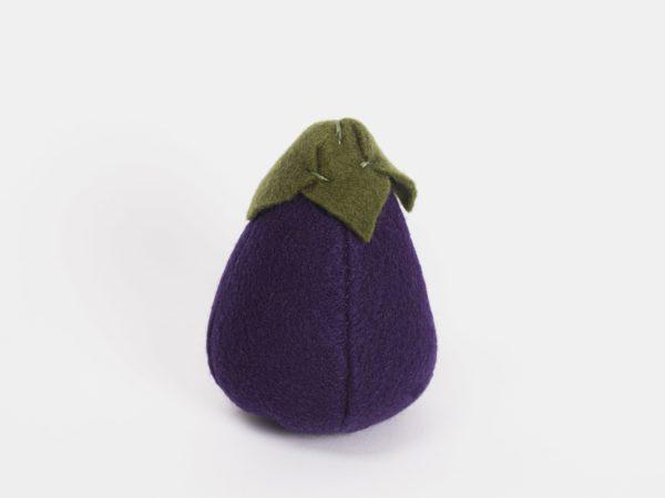 légume feutrine aubergine