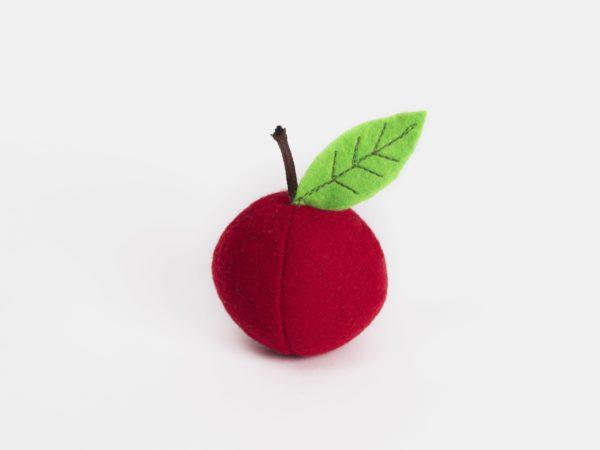 fruit feutrine pomme