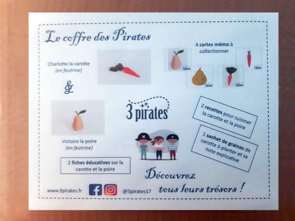 Présentation coffre des pirates